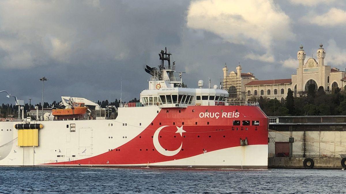 EU prodloužila sankce proti Turecku kvůli průzkumu ve Středomoří
