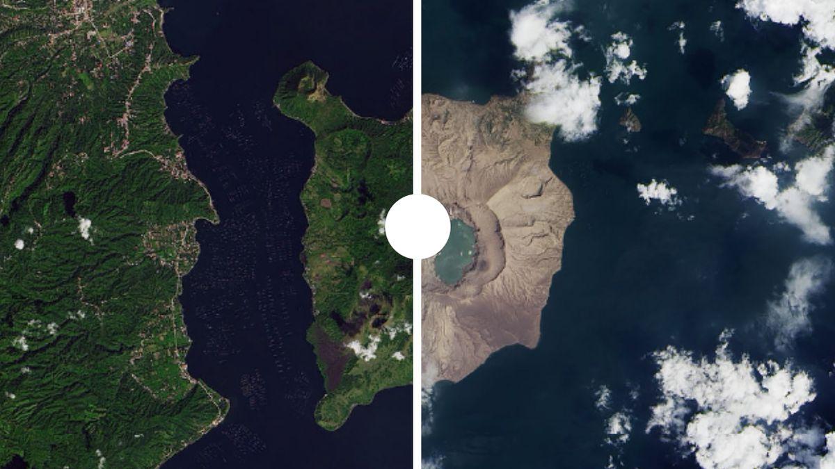 Unikátní záběry ukazují, jak se za rok 2020změnila naše planeta