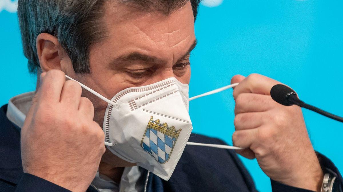 VBavorsku se baví opovinném očkování, Söder schytal kritiku