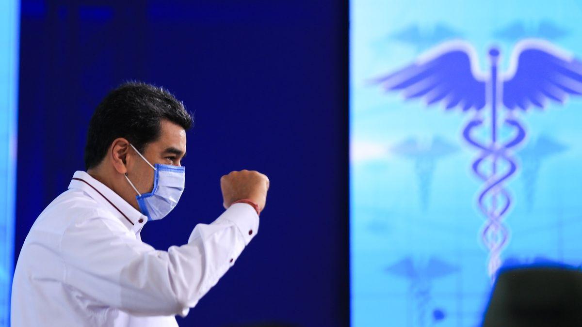 """Maduro propaguje """"zázračné kapky"""" proti covidu-19.Vědci nadšení nesdílejí"""