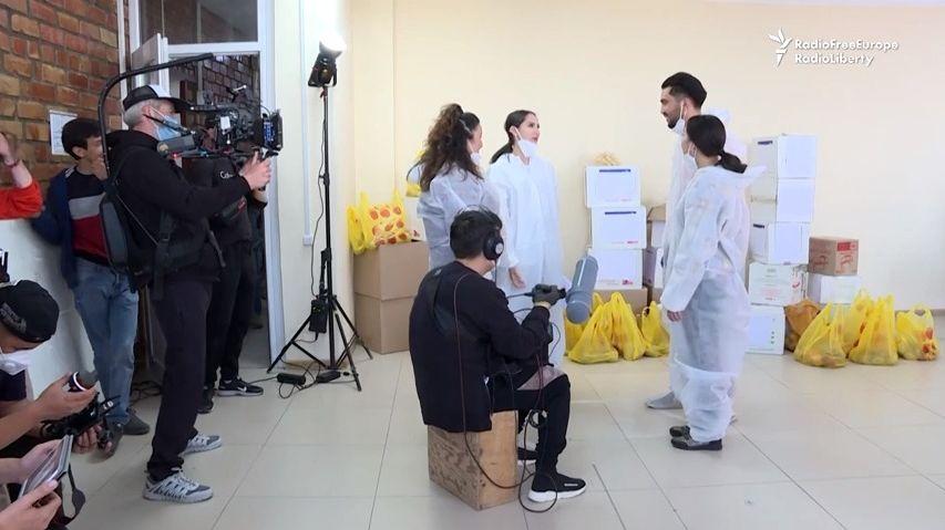 VKyrgyzstánu vznikají filmy opandemii natočené za pandemie