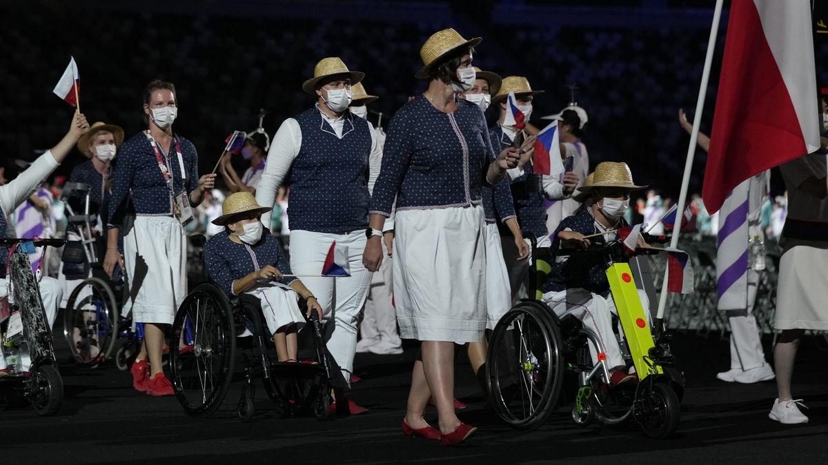 Fotky: VTokiu začala paralympiáda, Češi znovu vynesli modrotisk