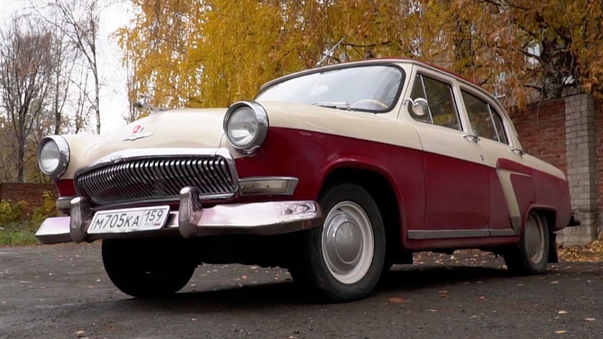 Legendární ruská Volha slaví 65let. Vůz taxikářů iVeřejné bezpečnosti