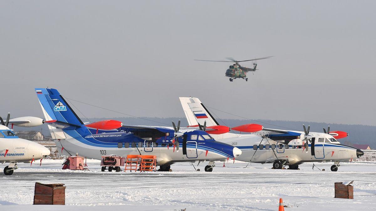Při nehodě letadla české výroby zahynulo vRusku 19lidí, tři se zranili