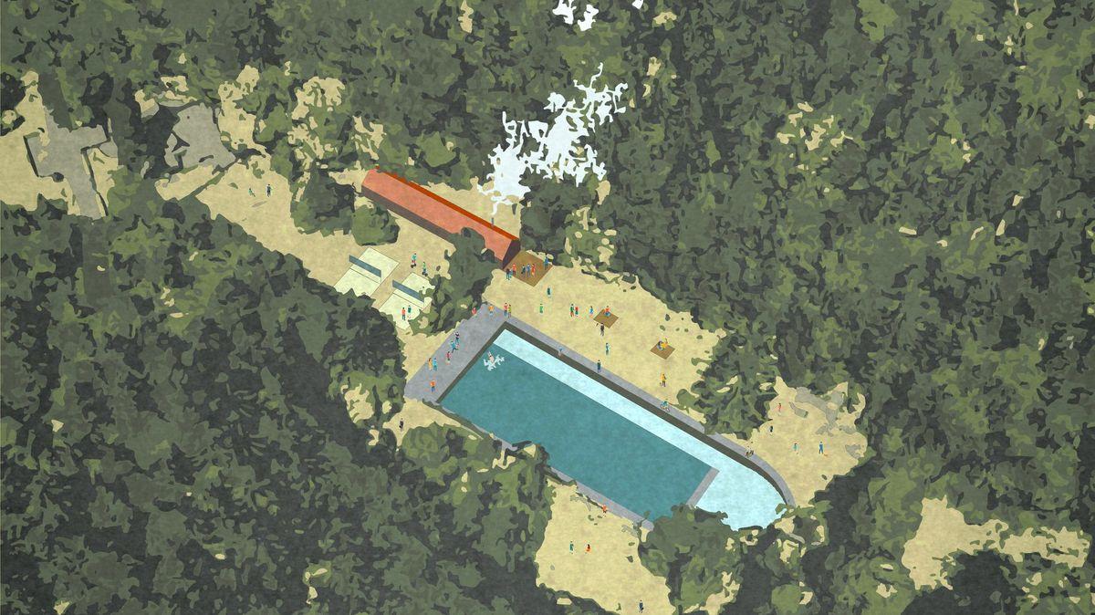 Kdysi slavné Lesní koupaliště chtějí opatrovat architekti