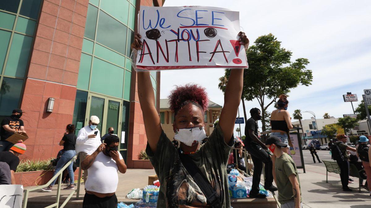 Kde se vzala Antifa? Oteroristy nejde