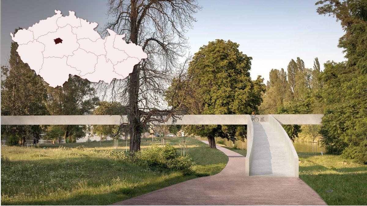 VPraze 7vznikla naučná stezce podél Vltavy vTrojské kotlině