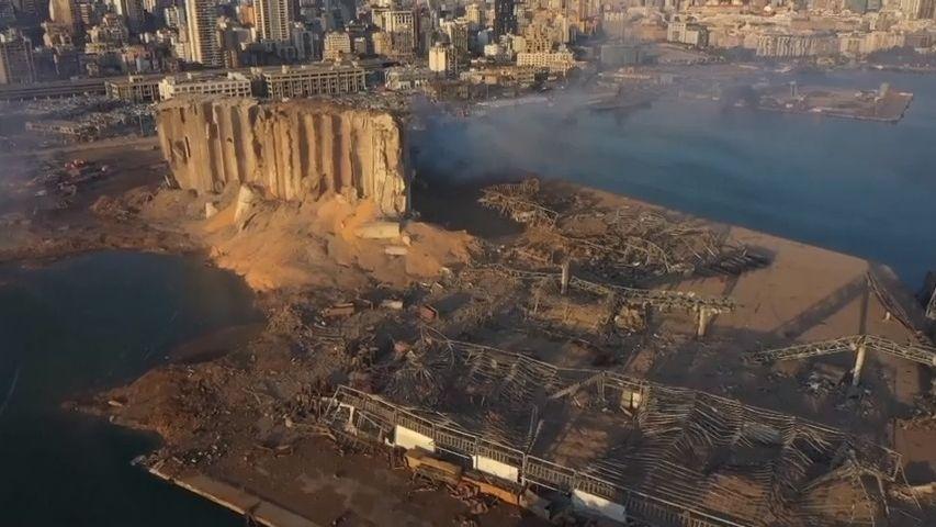 Libanon sečetl škody po explozi a ví: Na to nemáme