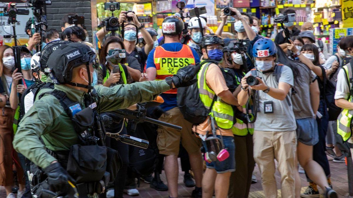 Dnes měly být vHongkongu volby. Místo nich přišly protesty a zatýkání