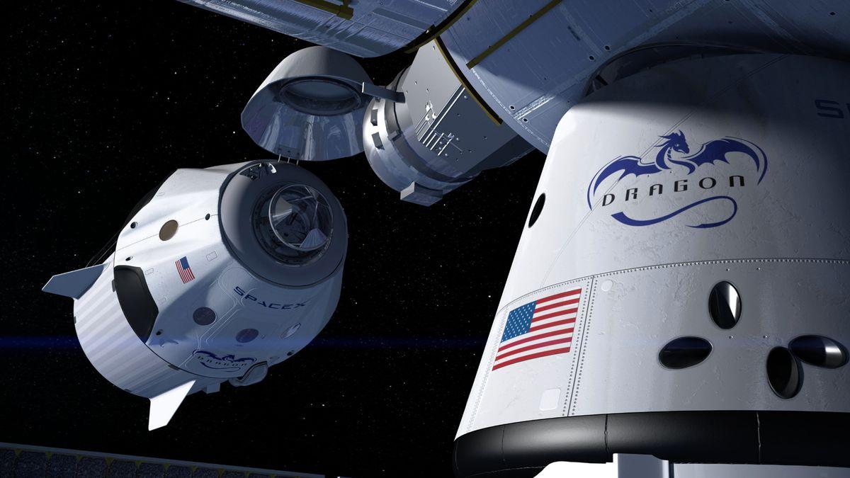 Kolem Země krouží dva Draci SpaceX. Pomohou na ISS oslavit Vánoce