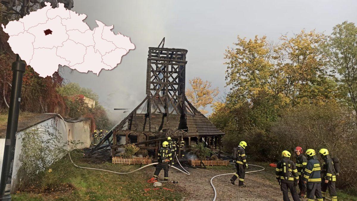 Požár kostela otřásl Prahou. Město vyhlásí sbírku na záchranu stavby