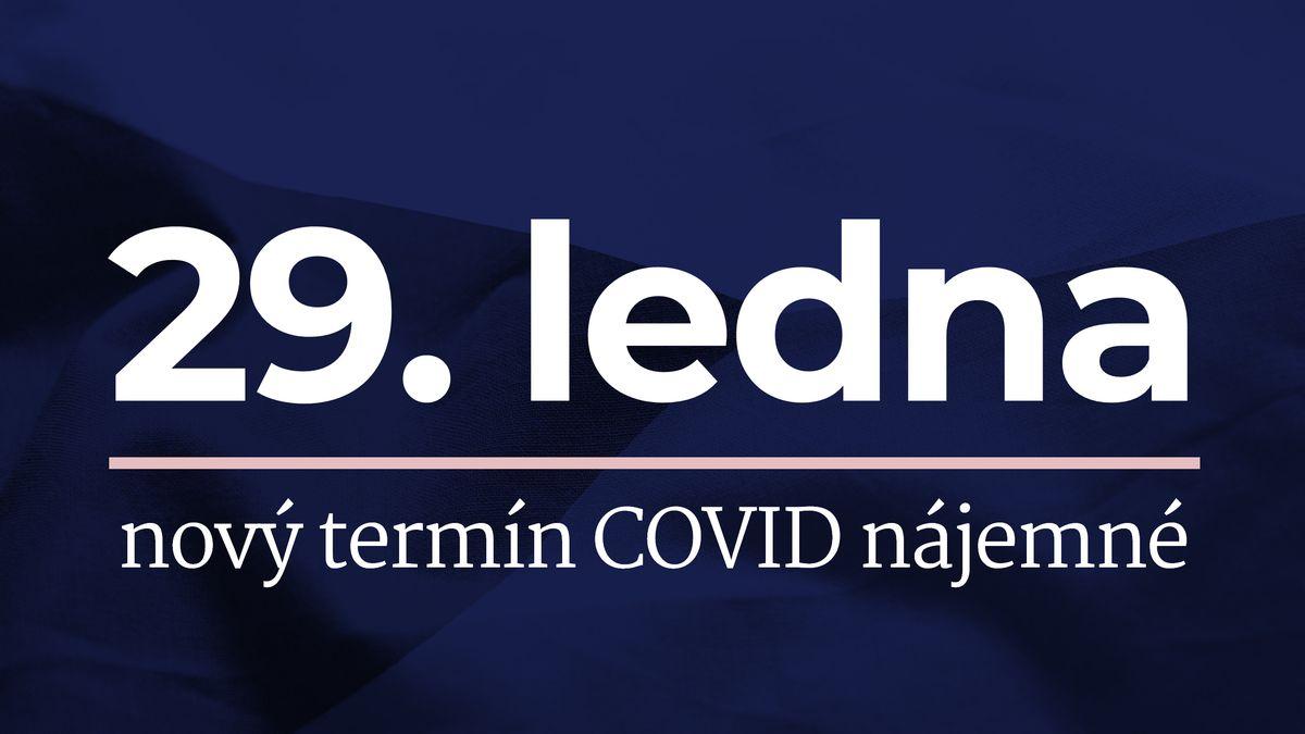 Po stížnostech na výpadky stát prodloužil termín žádostí pro COVID nájemné