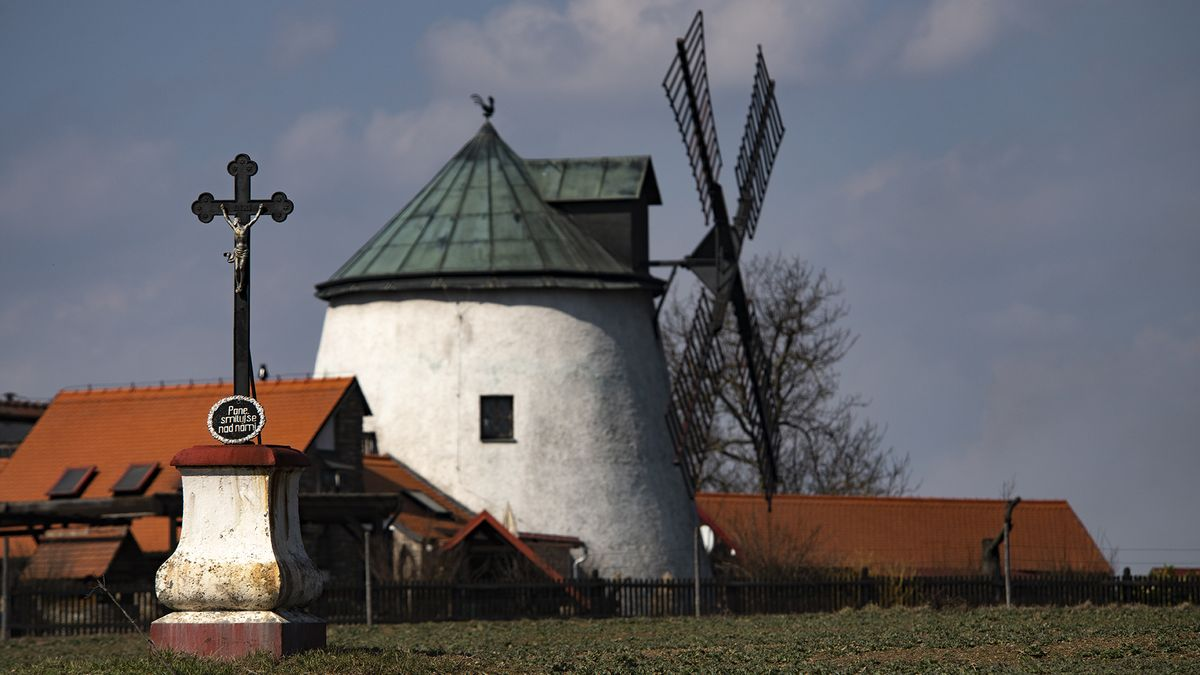 Lopatky opraveného větrného mlýna vTřebíči se budou otáčet jednou měsíčně