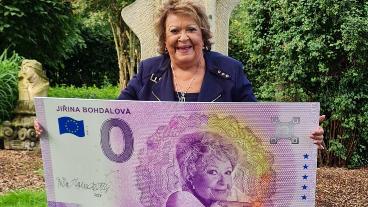 Bohdalová má svou bankovku. Sběratelé na ni čekají dny, její cena vystřelí