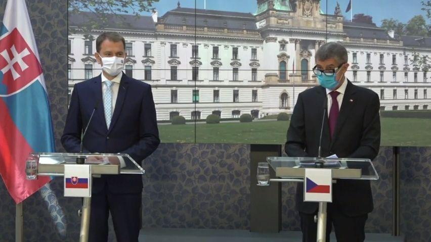 Hranice sČeskem otevírá Slovensko iRakousko