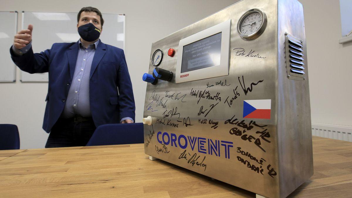 České plicní ventilátory vyrážejí do světa. Expanzi pomohou Korejci