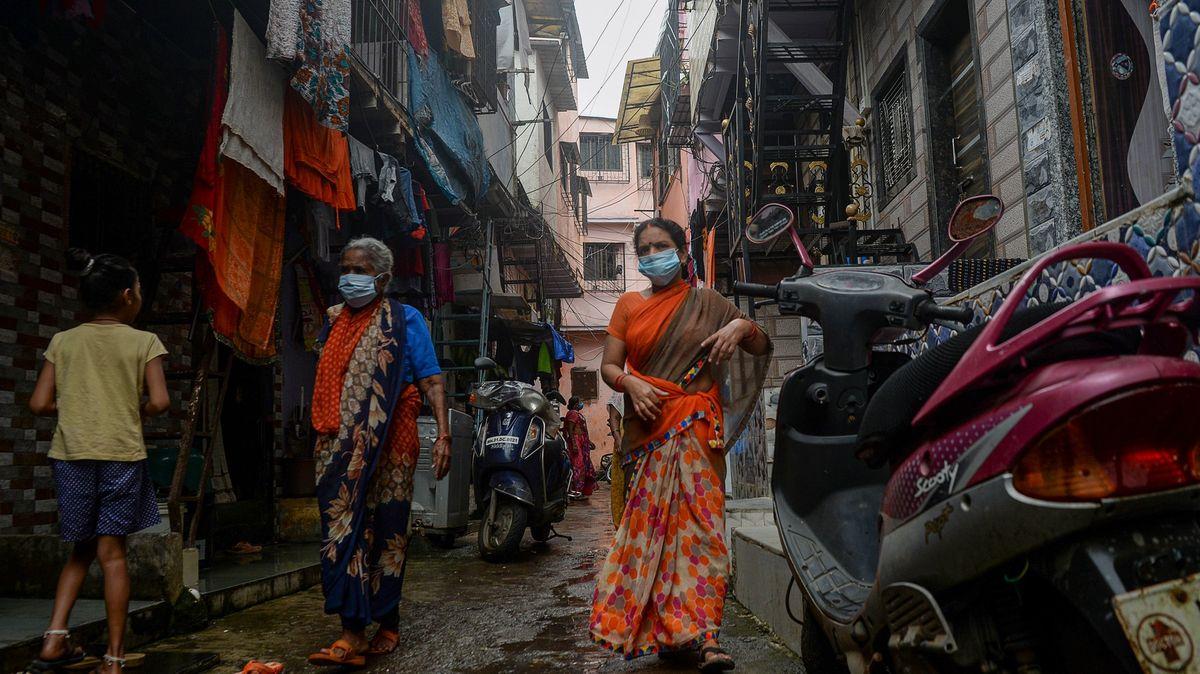 Přes 50% lidí ze slumů má protilátky proti koronaviru