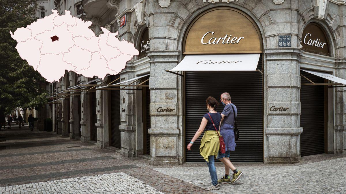 Krize hodnotu Pařížské ulice nesrazí, luxusní značky cílí na Čechy