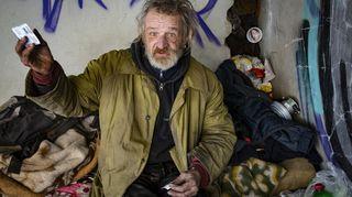 Fotoreportáž: Mezi bezdomovci, když je venku minus 15stupňů