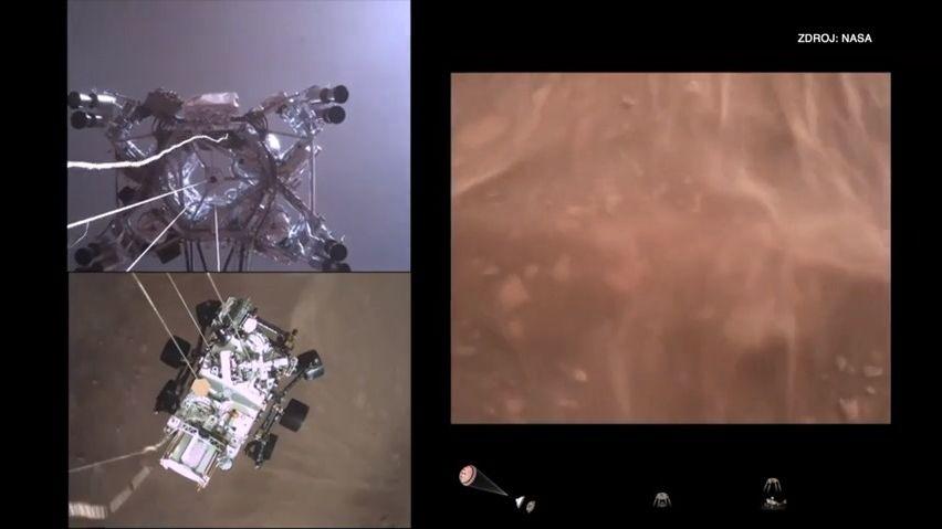 Detailní video zMarsu ise zvukem. NASA ukázala, co ještě nikdo neviděl