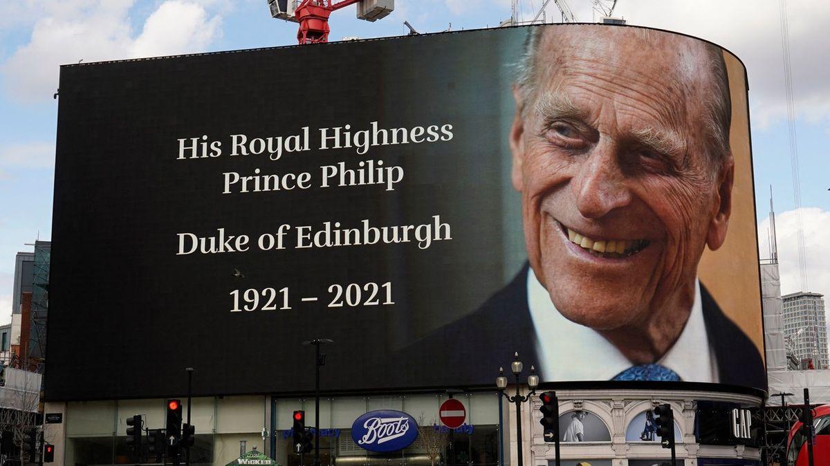 Vysílání oúmrtí prince Philipa zlomilo rekord diváckých stížností