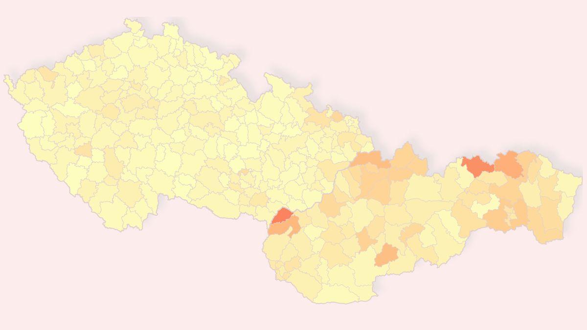 Covid na Slovensku sílí víc než vČesku. Může za to isběr brambor