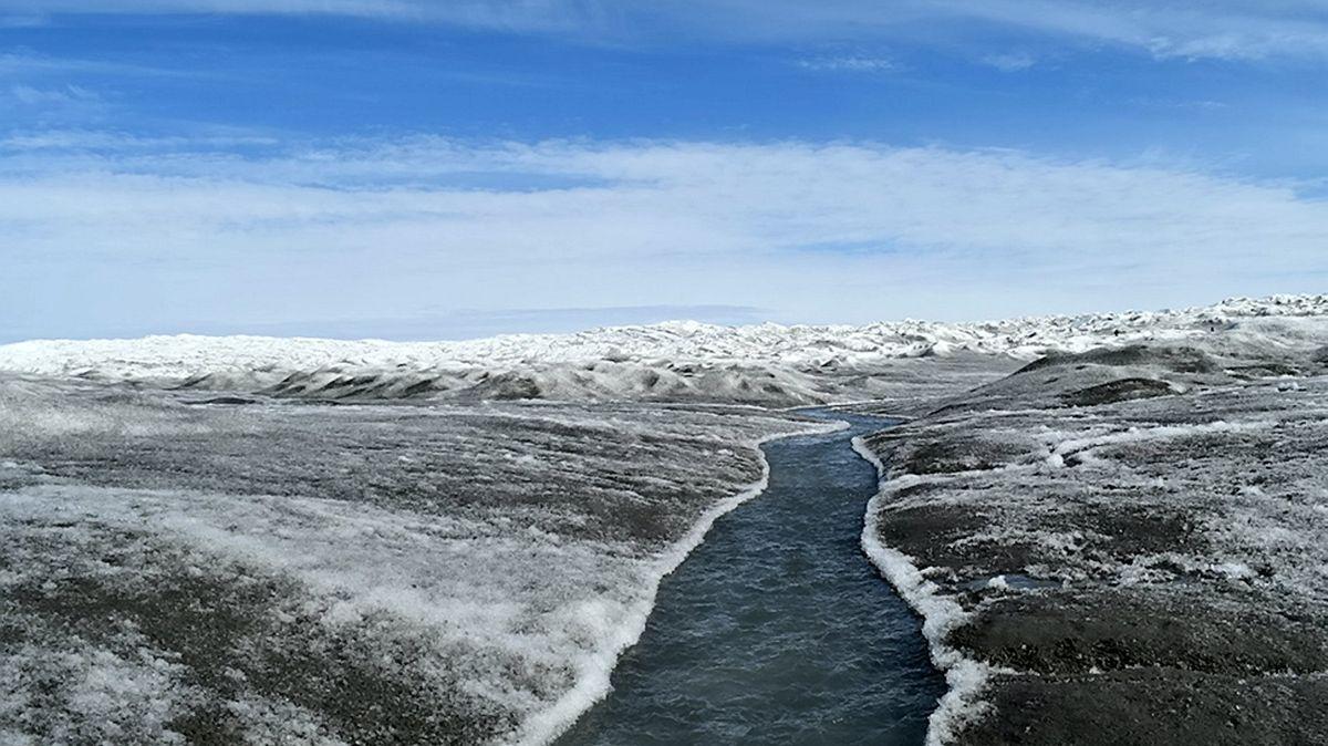 Pohyb ledových obrů odkryl území, které nikdo neznal