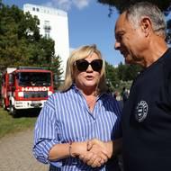 SZ / Alena Schillerová ministrině financí, Brno setkání s voliči