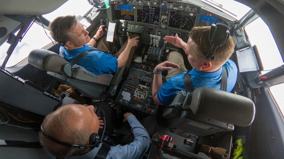 """Pilot Boeingu testoval """"Maxe"""" a zatajil data. Teď ho viní zpodvodu"""