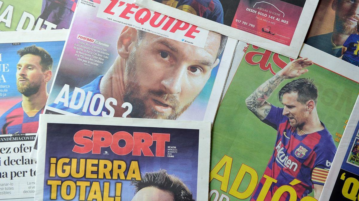 Poslední šance udržet Messiho. Barcelonu by musel opustit klíčový muž