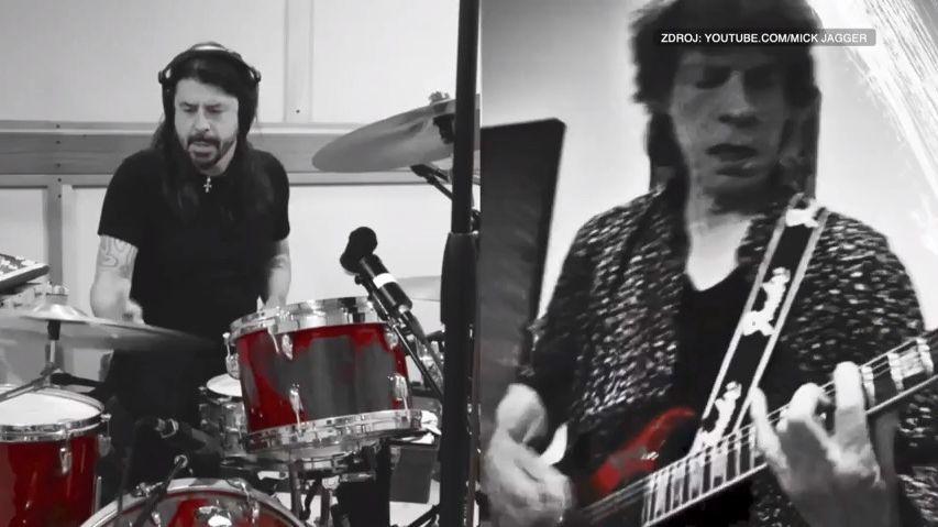 Video: Mick Jagger a Dave Grohl spolu udělali skladbu oživotě vpandemii