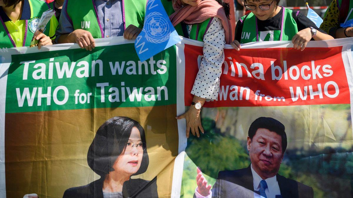 """""""Dovolme Tchaj-wanu pomáhat."""" Senát podpořil členství ostrova ve WHO"""