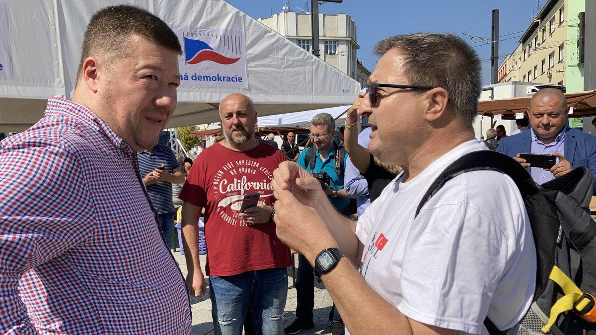 Okamurův jarmark se přesunul ze zaslíbené Moravy do Čech