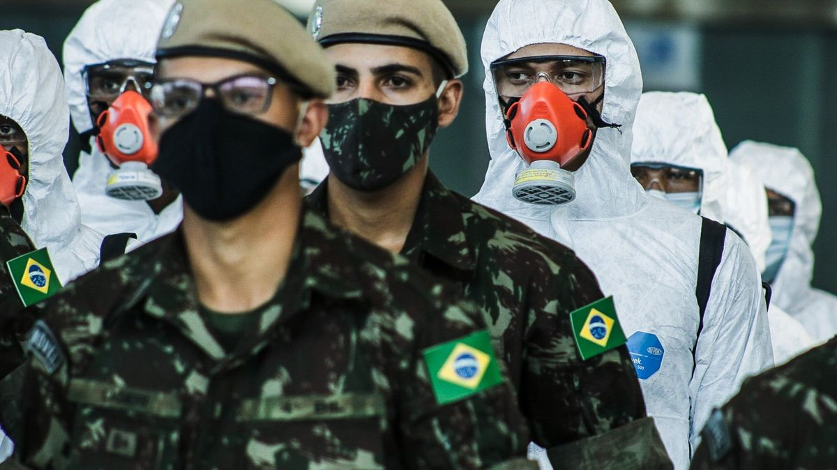Nakažení vBrazílii iSpojených státech přibývají po tisících
