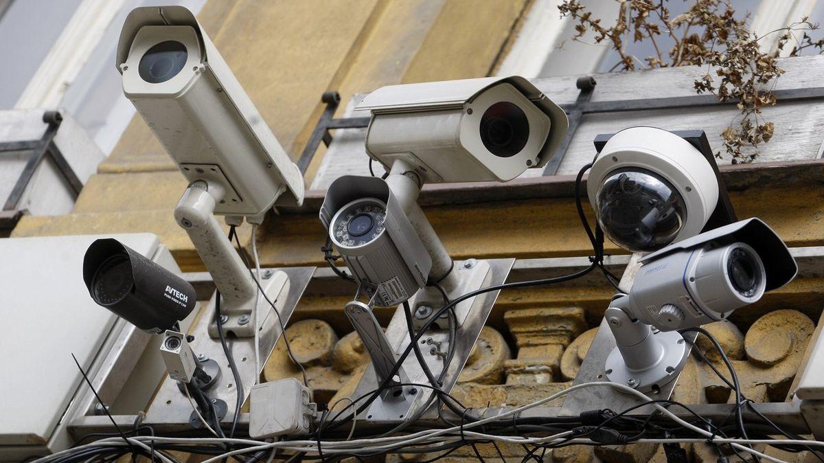 Nejvíc kamer sleduje Číňany, vysoko je ale na žebříčku ijedno evropské město