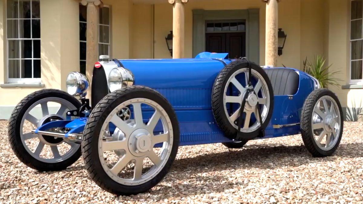 Hračka za milion. Bugatti Baby se vrací velektroverzi