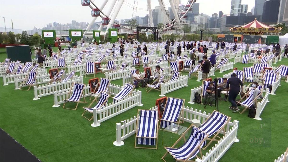 Revoluční park: pít spřáteli, sledovat koncert nebo kino lze ibezpečně