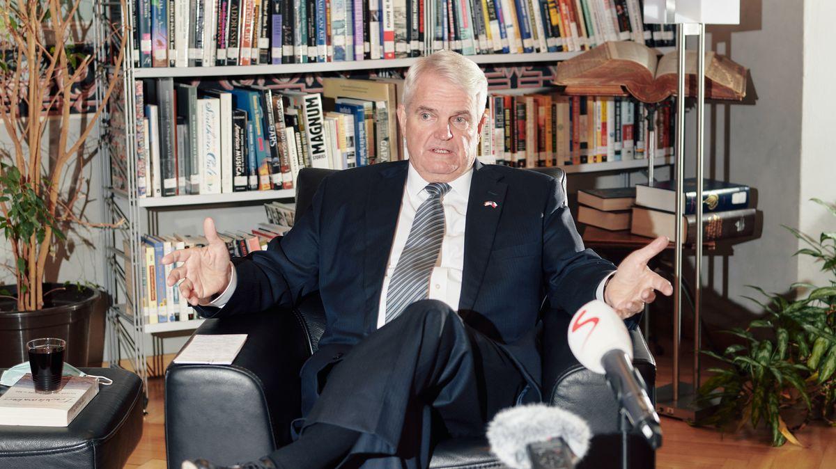 Westinghouse má zájem oDukovany, říká americký velvyslanec King