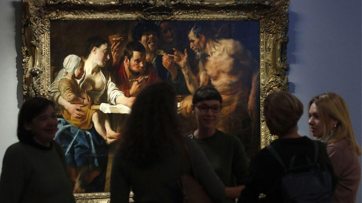 Na radnici vBruselu visí barokní mistrovské dílo, měli ho za kopii