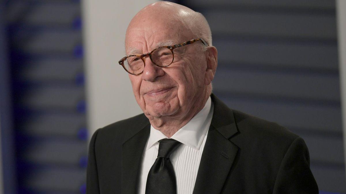 """""""Archetypální padouch"""" a mediální dinosaurus Rupert Murdoch slaví 90"""