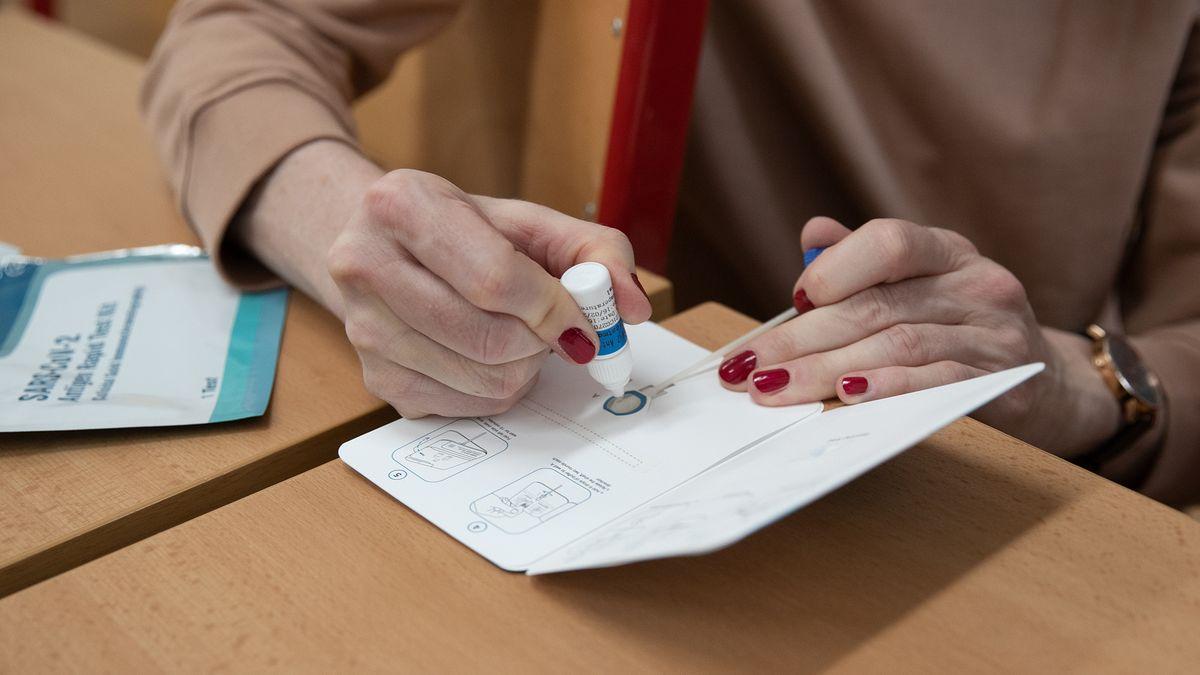 Ve školách se od 17.května sníží frekvence testování na covid-19