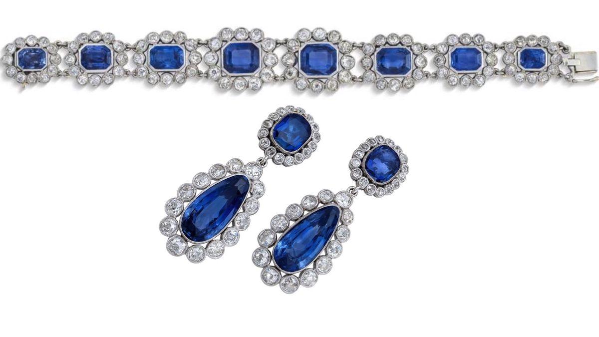 Draží se šperky Napoleonovy adoptivní dcery: safíry a tisíce diamantů