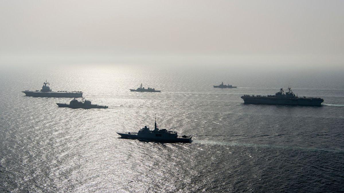 USA plánují vyslat dvě válečné lodě do Černého moře