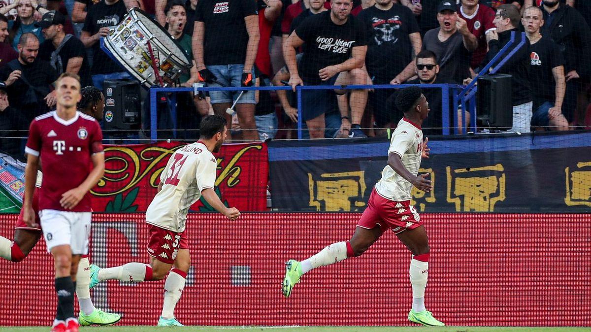 Doufám, že se to už nikdy nestane, řekl trenér Monaka orasismu na Letné