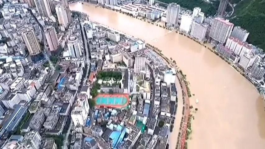 Protržené přehrady, zničené památky UNESCO. Čínu zasáhly další povodně