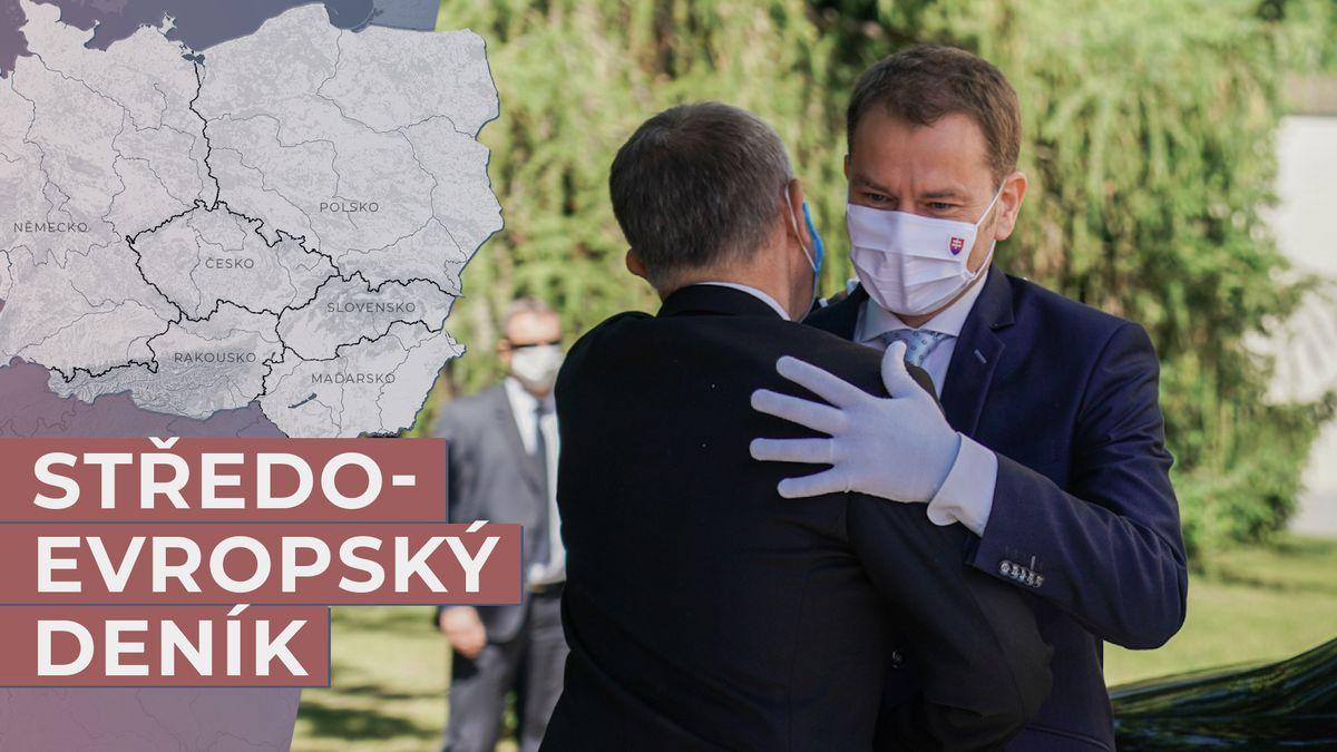 Do Prahy přijel sdobrou zprávou. Jak si ale zatím Matovič vede?