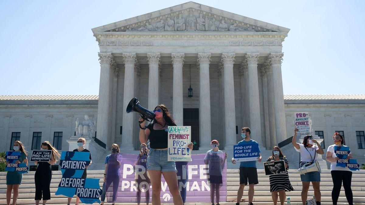 Stopka pro přísný potratový zákon. Nejvyšší soud USA ho zrušil