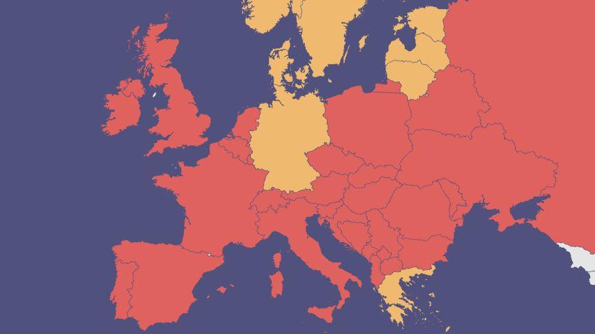 Cestovatelský semafor bude od pondělí jednotný pro celou EU