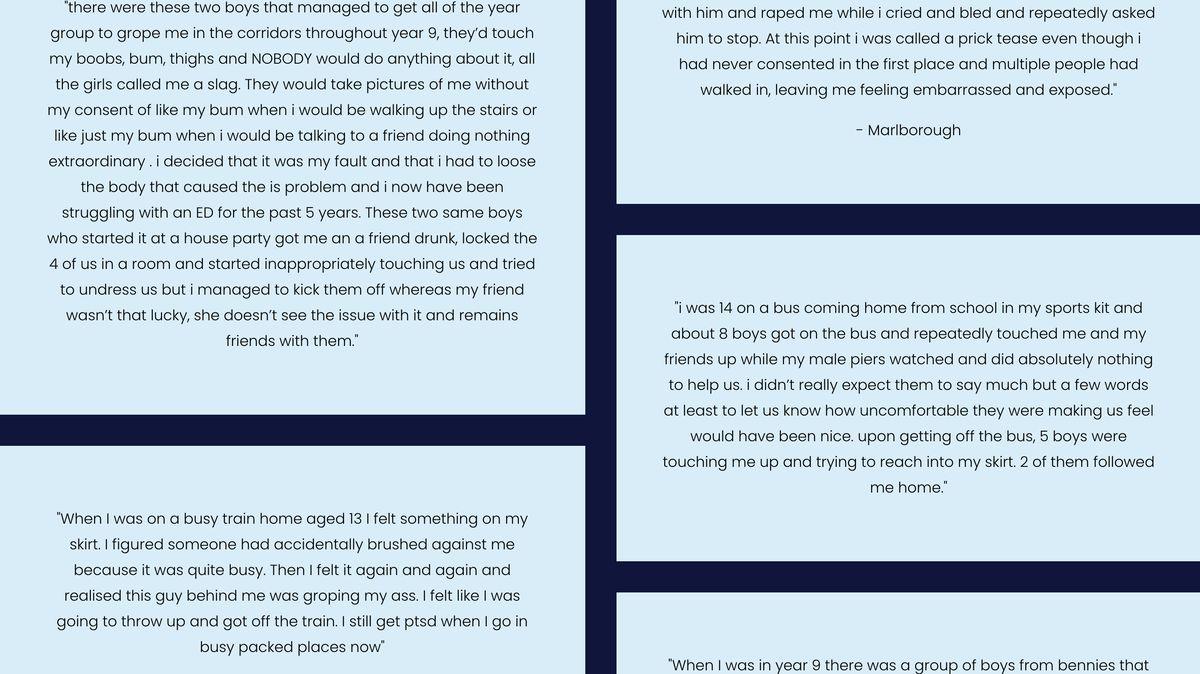 Znásilnil mě spolužák. Platforma odkrývá sexuální násilí mezi mladými Brity