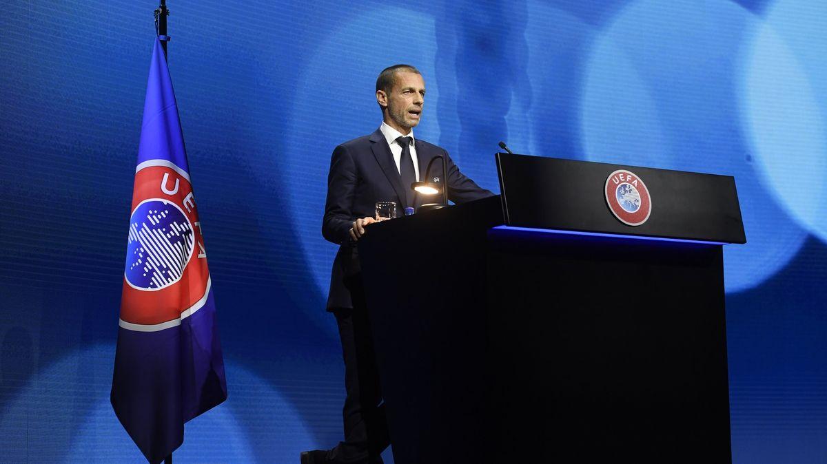 Kvůli Superlize UEFA semifinalisty Ligy mistrů nevyloučí. Změn dozná Euro